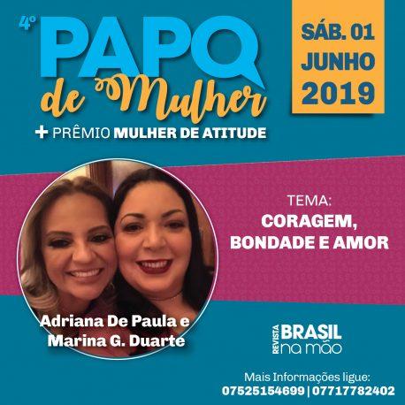 ADRIANA DE PAULA E MARINA G. DUARTE